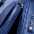 چمدان دلسی - کالکشن کامارتین پلاس-کد207881002-نمای زیپ چمدان دلسی