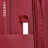 چمدان دلسی مدل 353480104 نمای لوگو از نزدیک