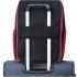 کوله-پشتی-دلسی-مدل-securban-قرمز-333460304-نمای-نصب-شده-روی-دسته-چمدان
