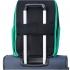کوله-پشتی-دلسی-مدل-securban-سبز-333460003-نمای-نصب-شده-روی-دسته-چمدان