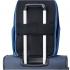کوله-پشتی-دلسی-مدل-securflap-آبی-تیره-333460312-نمای-نصب-شده-روی-دسته-چمدان