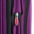 چمدان دلسی مدل هلیوم کروز - 215180008- نمای زیپ باز شده  از بغل