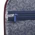 چمدان دلسی مدل 346872404 نمای زیپ قسمت داخلی چمدان