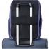 کوله-پشتی-دلسی-مدل-SECURBAN -آبی-333460302-نمای-نصب-شده-روی-دسته-چمدان