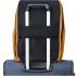 کوله-پشتی-دلسی-مدل-securban-زرد-نمای-نصب-شده-روی-دسته-چمدان