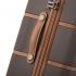 چمدان-دلسی-مدل-chatelet-air-شکلاتی-167282006-نمای-زیپ-و-دسته-چمدان