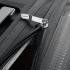 چمدان-دلسی-مدل-clavel-خاکستری-384583011-نمای-زیپ-باز