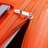 چمدان-دلسی-مدل-clavel-نارنجی-384583014-نمای-زیپ-باز