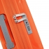 چمدان-دلسی-مدل-clavel-نارنجی-384583014-نمای-زیپ