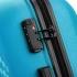 چمدان-دلسی-مدل-TASMAN-آبی-310080112-نمای-زیپ