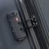 چمدان-دلسی-مدل- TASMAN-مشکی-310081101-نمای-زیپ