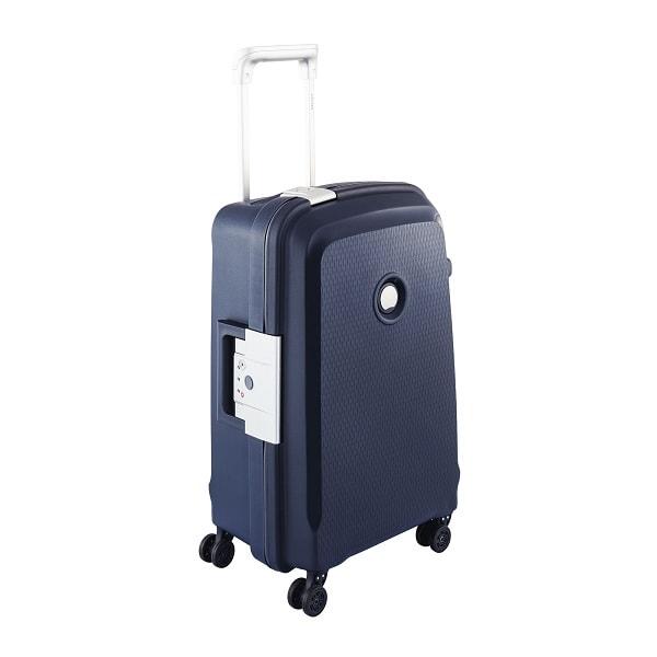 چمدان دلسی مدل Belfort Plus سایز کابین رنگ آبی