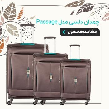 چمدان دلسی مدل Passage