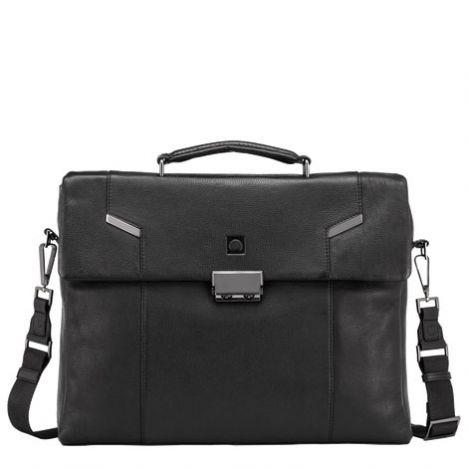 کیف چرم دلسی مدل Haussmann