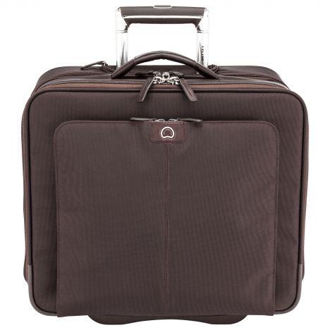 کیف بیزینسی دلسی مدل Duroc سایز متوسط رنگ قهوه ای