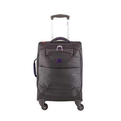 چمدان دلسی مدل for once سایز کابین رنگ خاکستری