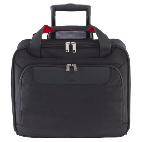 کیف بیزینسی دلسی مدل parvis سایز کوچک رنگ سیاه