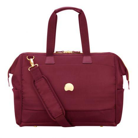 کیف خبرنگاری دلسی مدل Montrouge رنگ قرمز