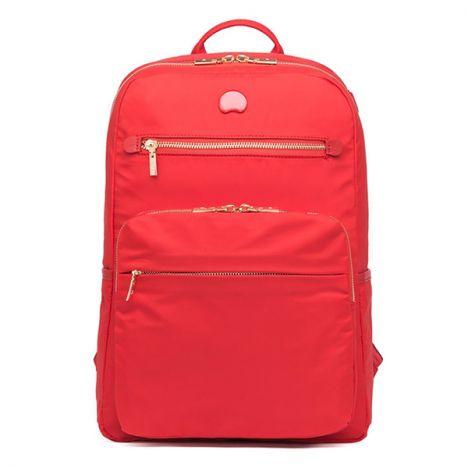 کوله پشتی دلسی مدل Adorball سایز متوسط رنگ قرمز