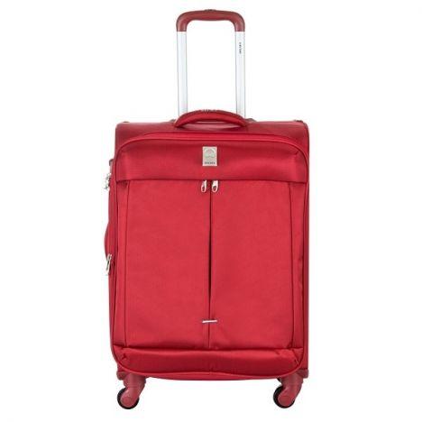 چمدان دلسی مدل Flight سایز کابین رنگ قرمز