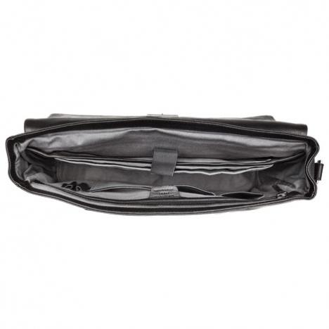 نمای داخل  کیف لپ تاپ دلسی مدل Bellecour از یک طرف