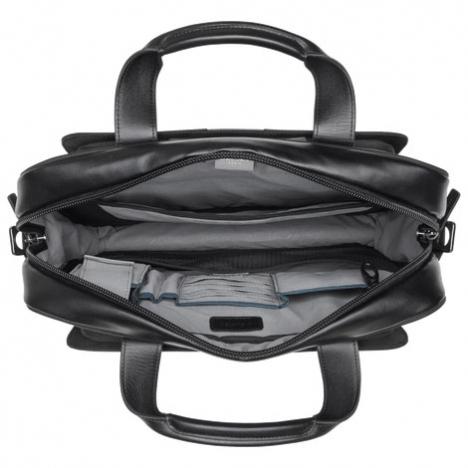 نمای داخل  کیف لپ تاپ دلسی مدل Bellecour از بالا