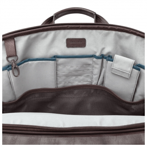 نمای داخل  کیف لپ تاپ دلسی مدل Bellecour