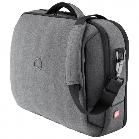 نمای سه رخ از کیف لپ تاپ دلسی مدل Bellecour