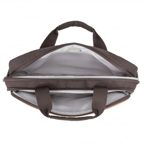 نمای داخل دو طرف کیف لپ تاپ دلسی مدل Bellecour