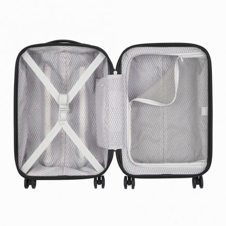 چمدان دلسی - کالکشن کامارتین پلاس-کد207880100-نمای از بالا و بازشده چمدان