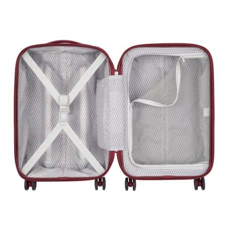 چمدان دلسی - کالکشن کامارتین پلاس-کد207880104-نمای باز شده چمدان از بالا