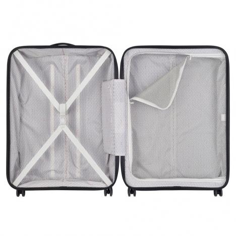 چمدان دلسی - کالکشن کامارتین پلاس-کد207882100-نمای چمدان از بالا به صورت باز شده