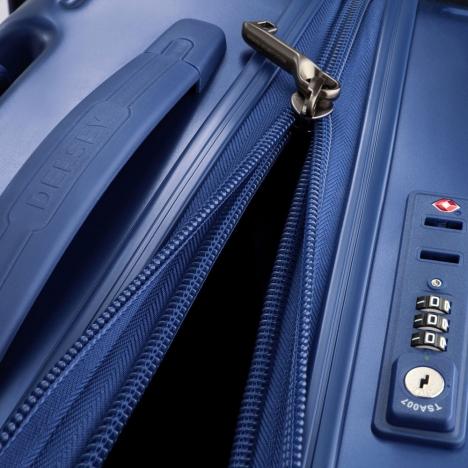 چمدان دلسی مدل 207802 نمای زیپ