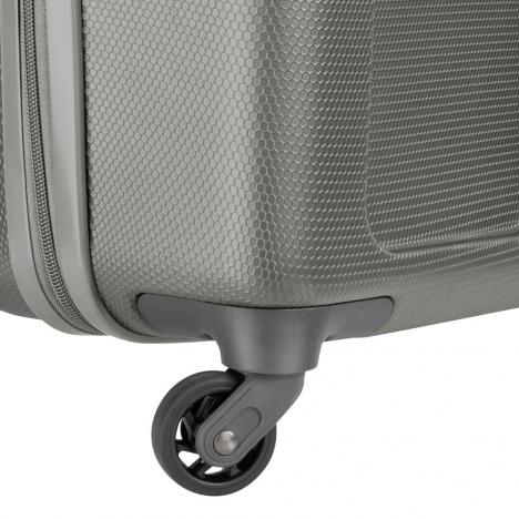 نمای نزدیک از چرخ چمدان دلسی مدل PLANINA- کد 351581011