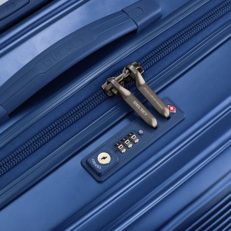 چمدان دلسی مدل 207802 نمای قفل