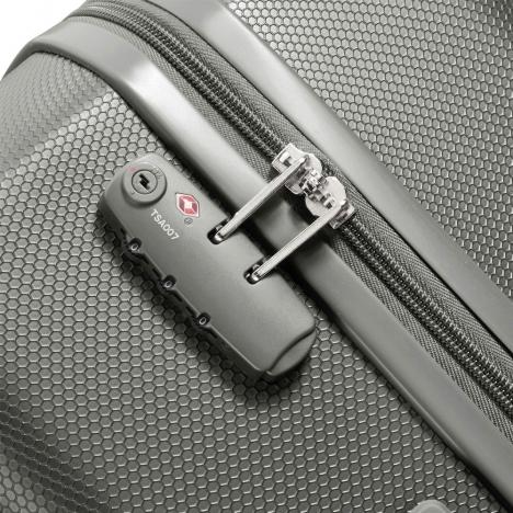 نمای نزدیک از زیپ چمدان دلسی مدل PLANINA- کد 351581011