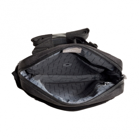کیف دوشی دلسی مدل 3354109 نمای داخل کیف از بالا