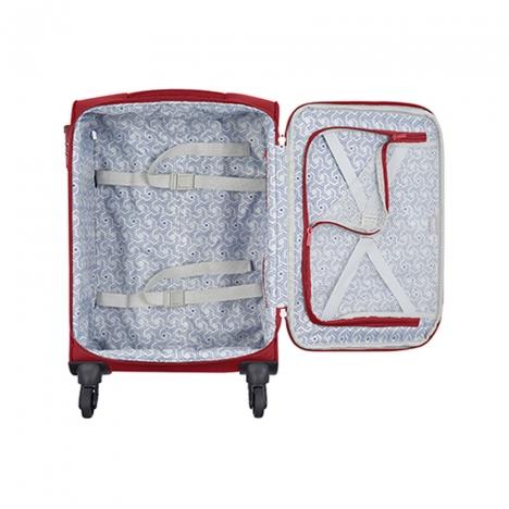 چمدان دلسی مدل 353480104 نمای داخل چمدان از بالا