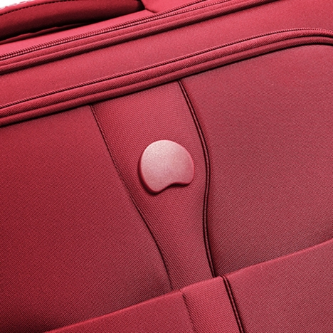 چمدان دلسی مدل353480104 نمای لوگو از نزدیک