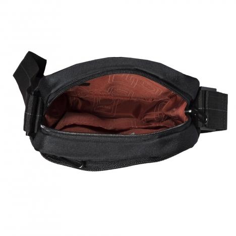 کیف دوشی دلسی مدل 3355113 نمای داخل کیف از بالا