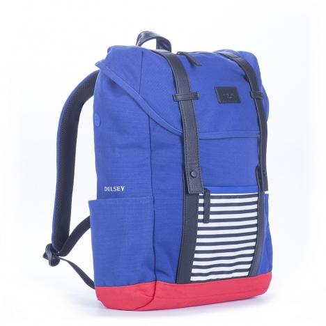 کوله پشتی-دلسی-مدل-آردنت-آبی-371260102-نمای-سه-رخ