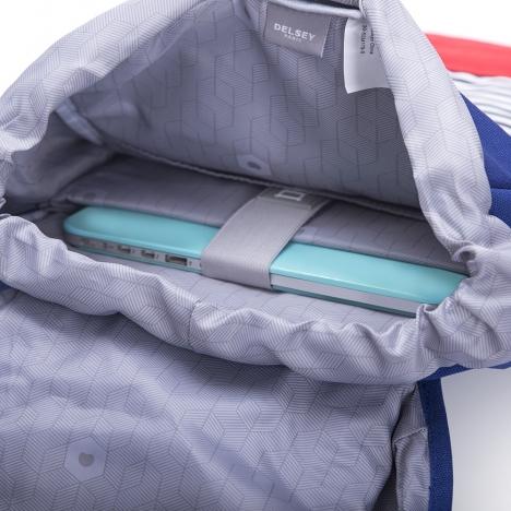کوله پشتی-دلسی-مدل-آردنت-آبی-371260102-نمای-داخل