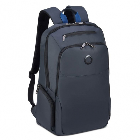 کوله پشتی-دلسی-مدل-پرویس-پلاس-خاکستری-394462911-نمای-سه-رخ