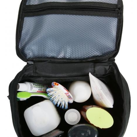 کیف آرایش دلسی مدل  394033300 نمای داخل کیف از بالا