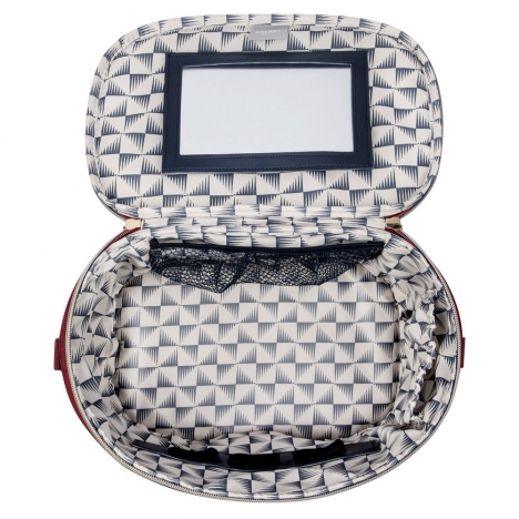کیف آرایشی دلسی مدل 201831004 نمای داخل