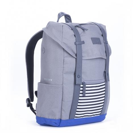 کوله پشتی-دلسی-مدل-ARDENT-خاکستری-نمای-سه-بعدی