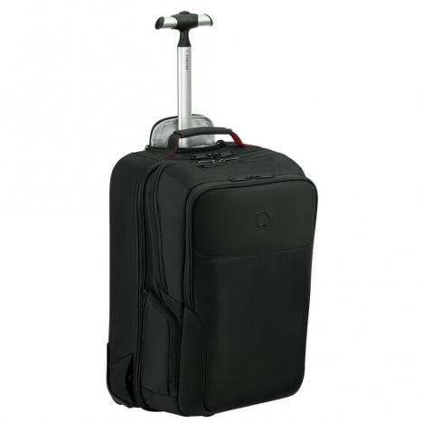 کوله-پشتی-دلسی-مدل-parvis-plus-مشکی-394465000-نمای-سه-رخ