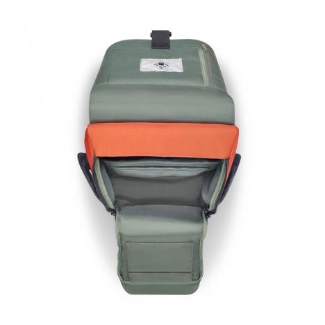 کوله-پشتی-دلسی-مدل-secuflap-نارنجی-202061025-نمای-جیب-باز-شده