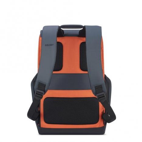 کوله-پشتی-دلسی-مدل-secuflap-نارنجی-202061025-نمای-پشت