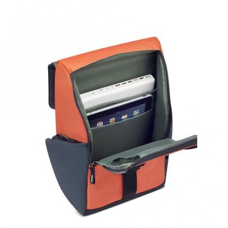 کوله-پشتی-دلسی-مدل-secuflap-نارنجی-202061025-نمای-داخل